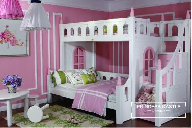 青少年儿童家具公主房双层步梯床.jpg